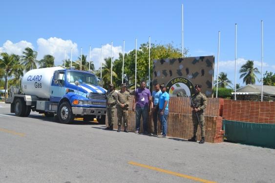 Ocupan contrabando de cigarrillos en el Cruce de Vicente Noble