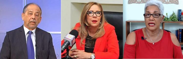 Rechazan ataques Iris Guaba a Huchi y Altagracia Salazar