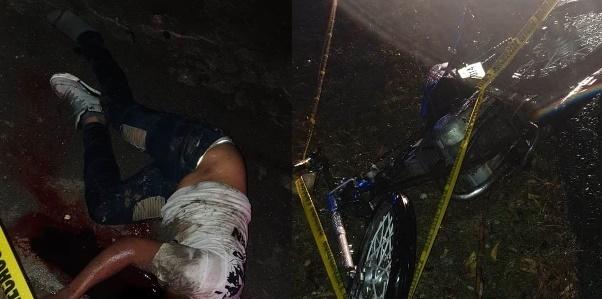 Accidente próximo a la comunidad Algodón deja un fallecido